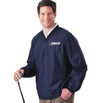 EMAP Navy Fairway V-neck Windshirt