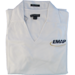 EMAP Ladies White Polo